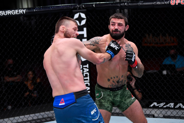 UFC 255 Mike Perry Tim Means Dopeclics