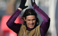 Edinson Cavani Manchester United Paris Saint Germain