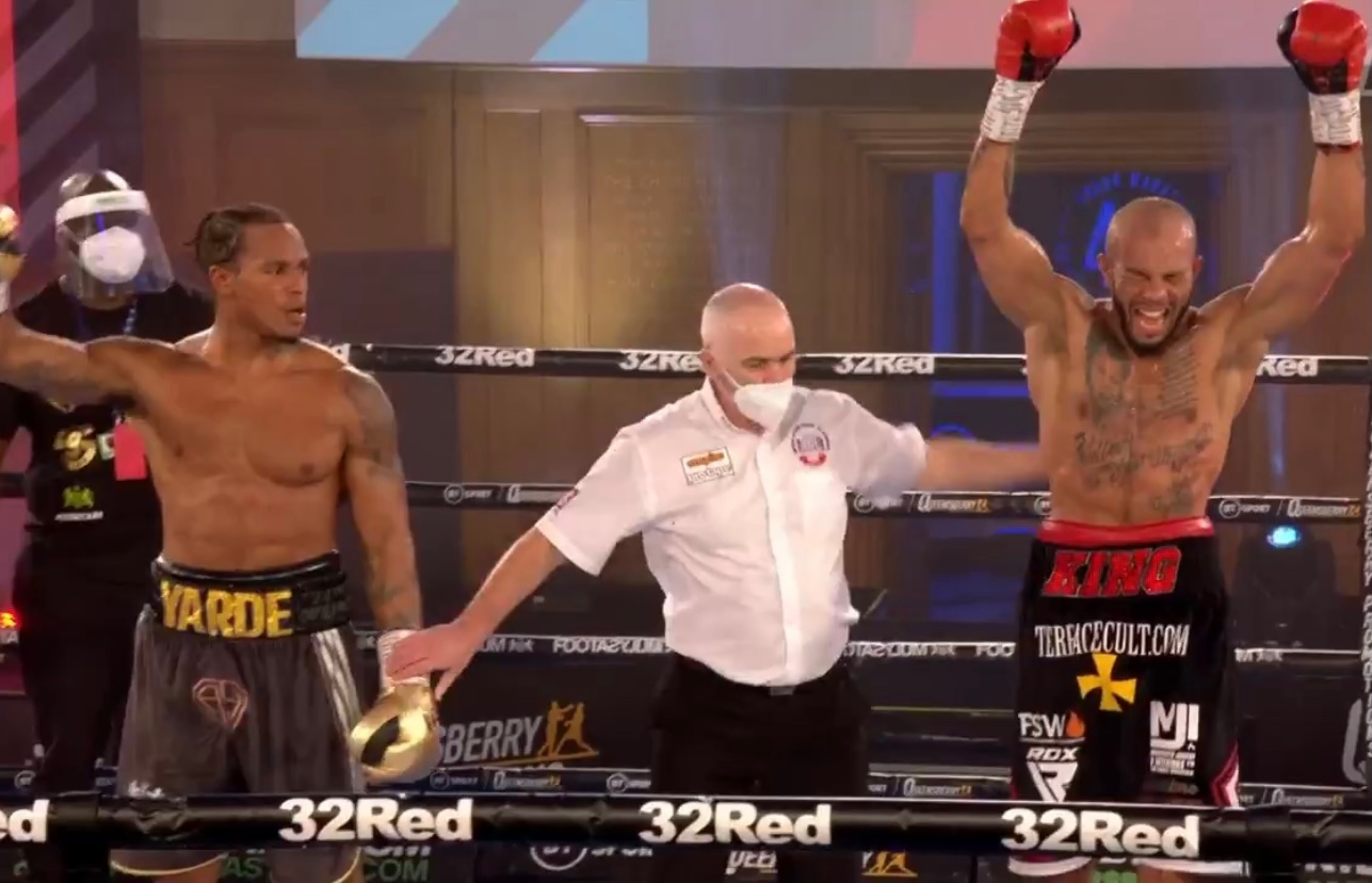 Dopeclics Lyndon Arthur Defeats Anthony Yarde 1