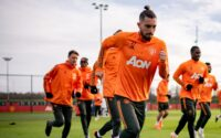 Alex Telles Manchester United Training