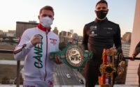 Canelo Alvarez And Callum Smith Media day
