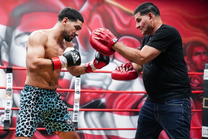 Danny Garcia Angel Garcia Training