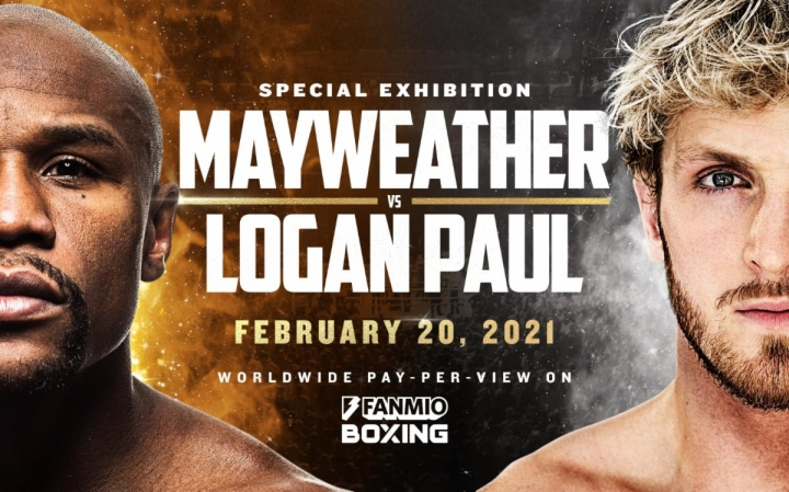 Floyd Mayweather Jr Vs Logan Paul Poster