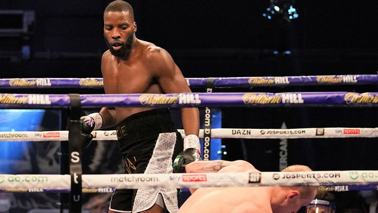 Lawrence Okolie Knocks Out Nikodem jezewski