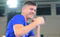 Luke Campbell Training During Open Workout