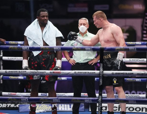 Alexander Povetkin Defeated Dillian Whyte