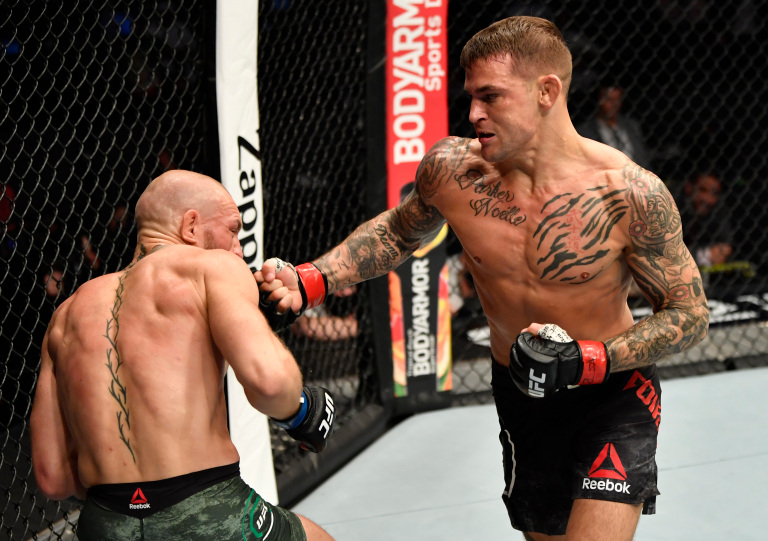 Dustin Poirier Conor McGregor UFC 257