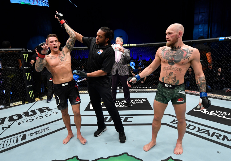 Dustin Poirier Defeats Conor McGregor