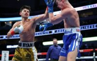 Ryan Garcia Taps Luke Campbell with a left