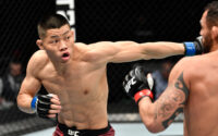 Li Jingliang KO's Santiago Ponzinibbio At UFC On ABC 1