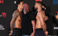 Max Holloway Vs Calvin Kattar Faceoff