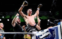 Tim Tsyzu Celebrates Jeff Horn Victory