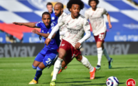 Willian Arsenal Vs Leicester City