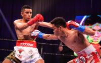 Jerwin Ancajas tags Jonathan Rodriguez With a Body Shot