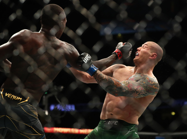 UFC 263 Results Israel Adesanya punches Marvin Vettori In Rematch