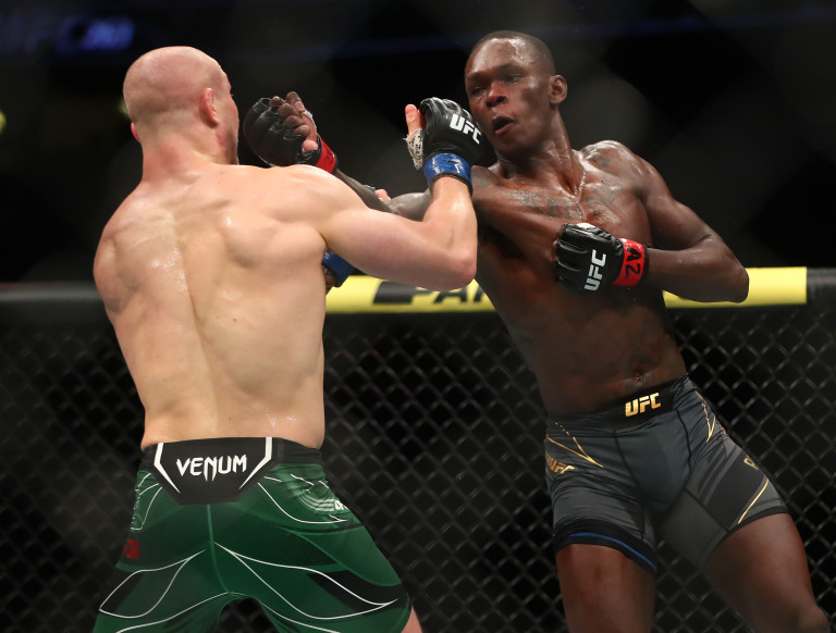 UFC 263 Results Israel Adesanya tags Marvin Vettori In Rematch