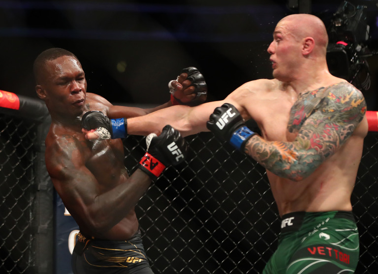 UFC 263 Results Marvin Vettori punched Isreal Adesanya In Rematch