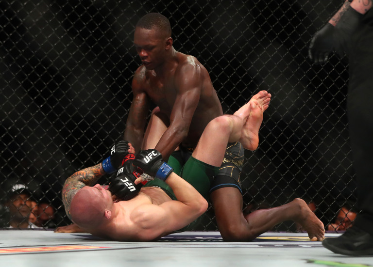 UFC 263 Results Marvin Vettori Grounded by Isreal Adesanya In Rematch