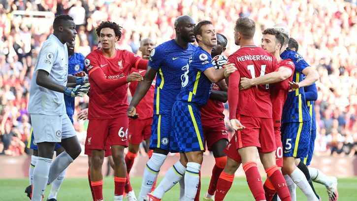 Liverpool And Chelsea Players In Malee