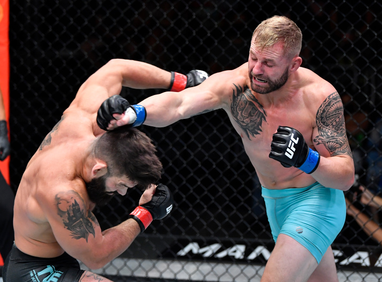 Andre Petroski Defeats  Micheal Gillmore At UFC On ESPN 30 Photo 2