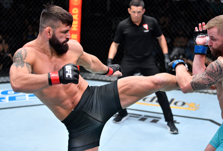 Andre Petroski Defeats Micheal Gillmore At UFC On ESPN 30