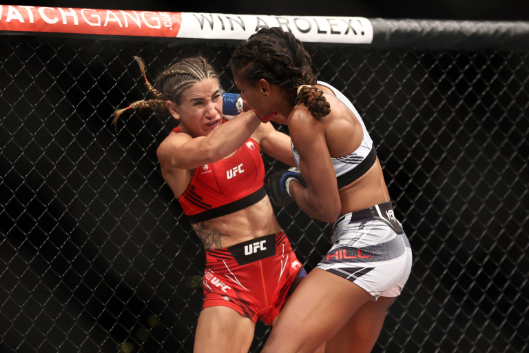 Tecia Torres Beats Angela Hill In Rematch At UFC 265