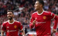 Cristiano Ronaldo Scores And Celebrates Goal In Return To Manchester United Against Crystal Palace