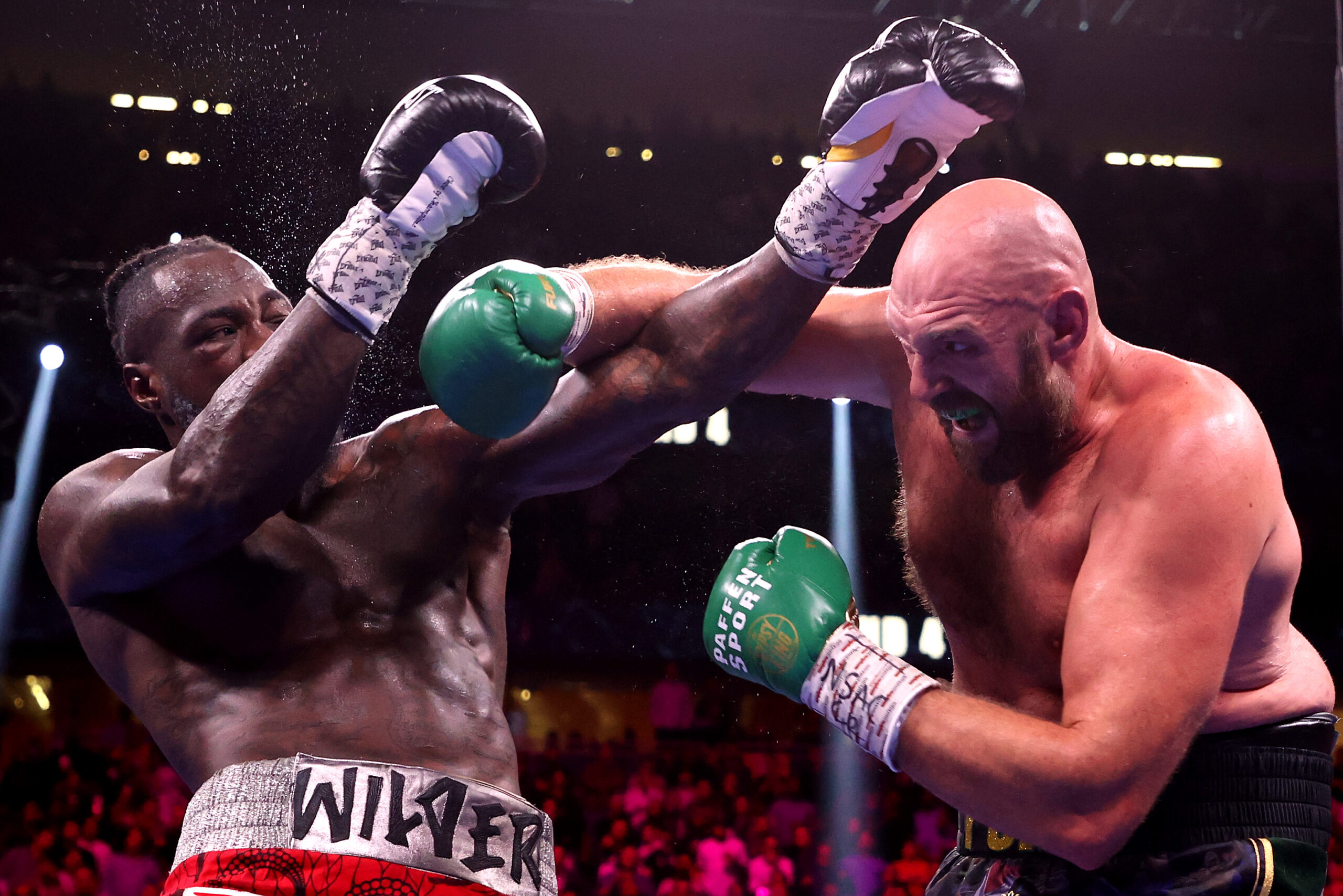 Tyson Fury defeats Deontay Wilder In Rematch two