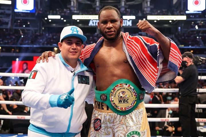 Frank Sanchez Hands Efe Ajagba First Professional Career Loss photo 11