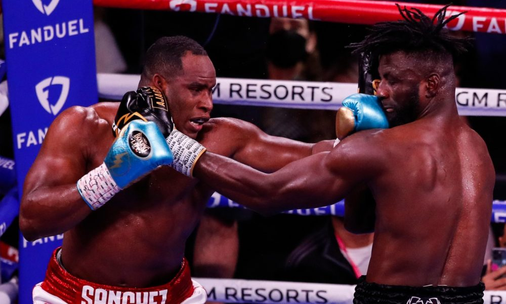 Frank Sanchez Hands Efe Ajagba First Professional Career Loss photo 8