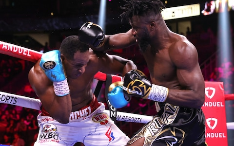Frank Sanchez Hands Efe Ajagba First Professional Career Loss photo 6