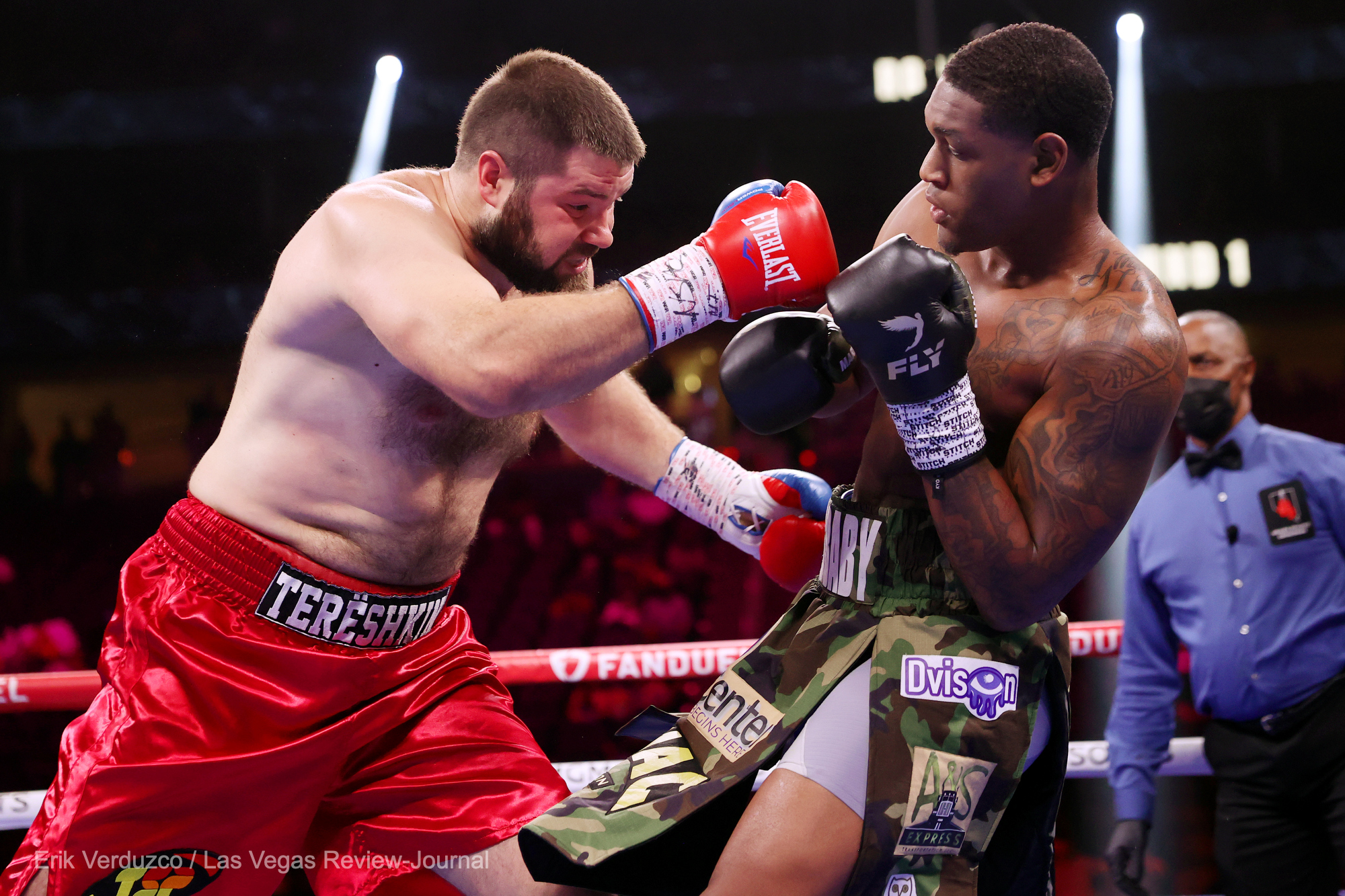Jared Anderson Batters And Stops Wladimir Tereshkin In Two Rounds Photo 1